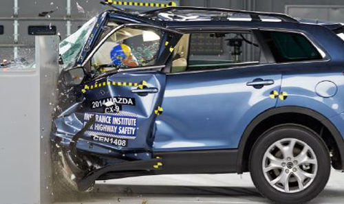 2014 Mazda CX-9 Small Overlap Crash Test