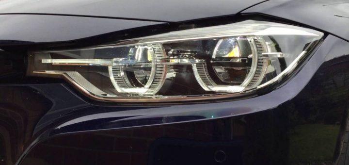 BMW F30 reflektör tip LED farları